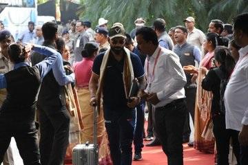 Barabati ODI: India, West Indies teams arrive