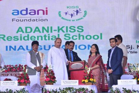 Adani-KISS Tribal Residential School