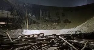 Building collapsed at Bhubaneswar airport