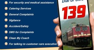 Indian Railway helpline 139