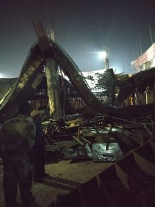 Link building collapses at Bhubaneswar airport