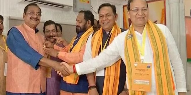 Samir Mohanty elected as Odisha BJP president
