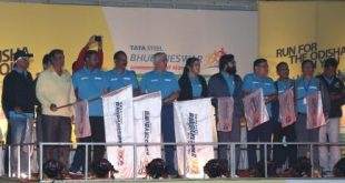 5000 running enthusiasts compete at Tata Steel Bhubaneswar Half Marathon