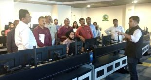 Maharashtra govt officials visit Bhubaneswar Smart City office