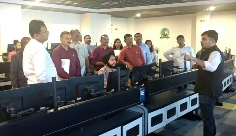 Maharashtra govt officials visit Bhubaneswar Smart City office