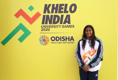 Bengaluru's Riddhi subdues injuries to win silver at KIUG