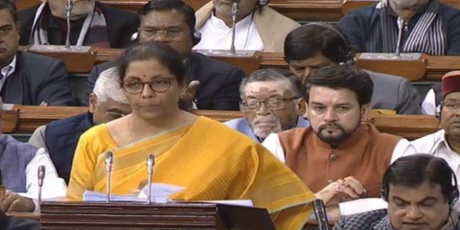 Sitharaman's Budget 2020 based on triple themes