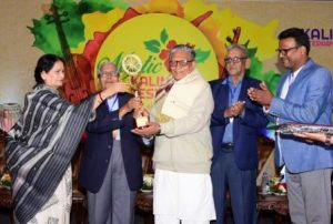 Manoj Das receives Mystic Kalinga Literary Award 2020