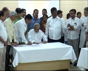 Naveen files nomination for BJD president post