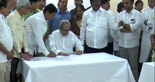 Naveen files nomination for BJD president post