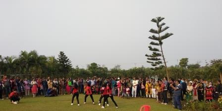 Park Utsav begins with infotainment activities