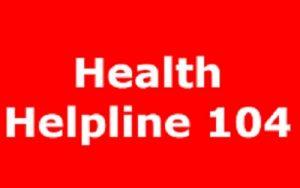 104 COVID-19 helpline