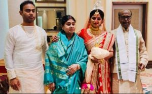 Actress Jhilik marries BJD MLA Pritiranjan