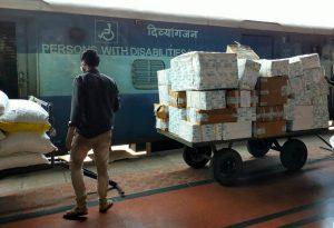 Medicine cartons reach various railway stations in Odisha