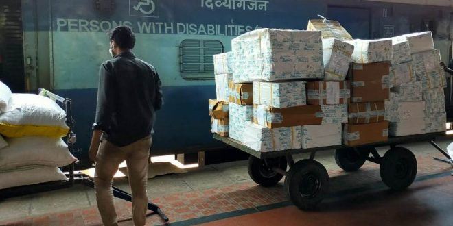 Medicine cartons reach various railway stations in Odisha