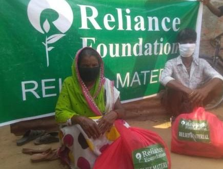Reliance Foundation provides dry ration kits in twin cities