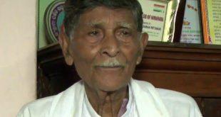 Freedom fighter Bhabani Charan Patnaik passes away