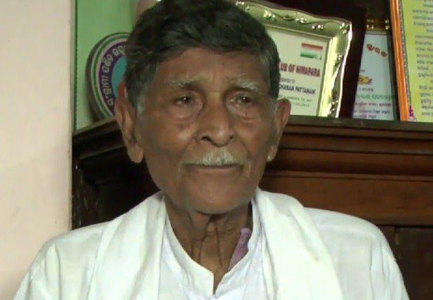 Freedom fighter Bhabani Charan Patnaik passes away