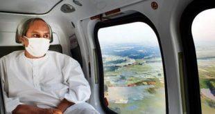 Odisha CM takes aerial survey of cyclone Amaphan
