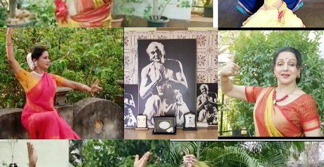 Dream Girl Hema Malini features in Mahasweta's music video