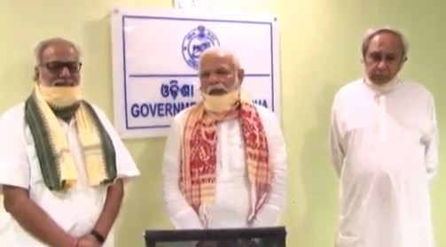 PM Modi announces Rs 500 cr assistance for Odisha