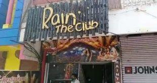 Rain The Club bar in Bhubaneswar