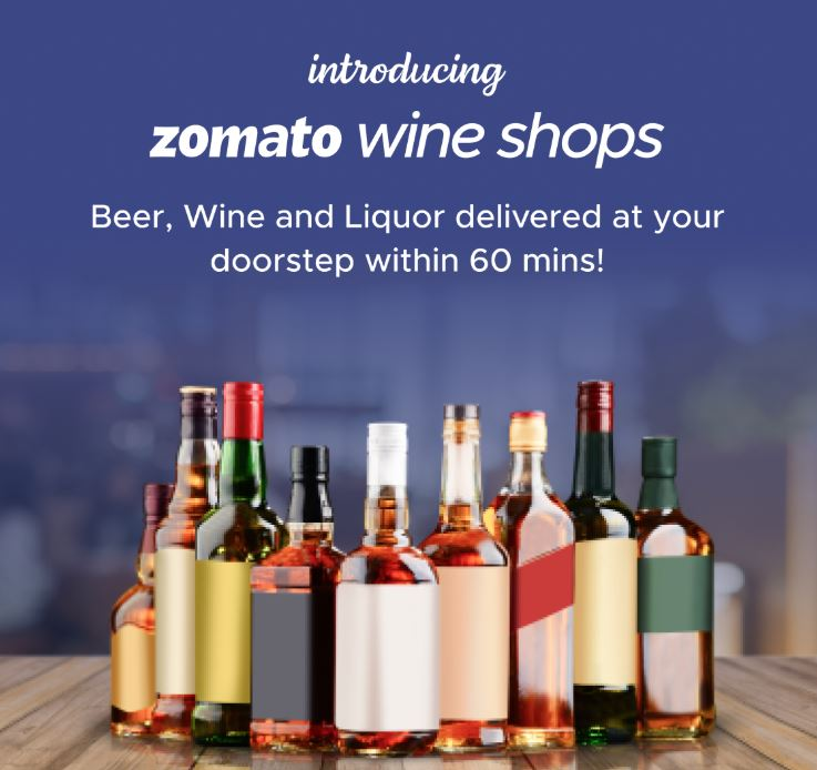 Zomato Wine Shops