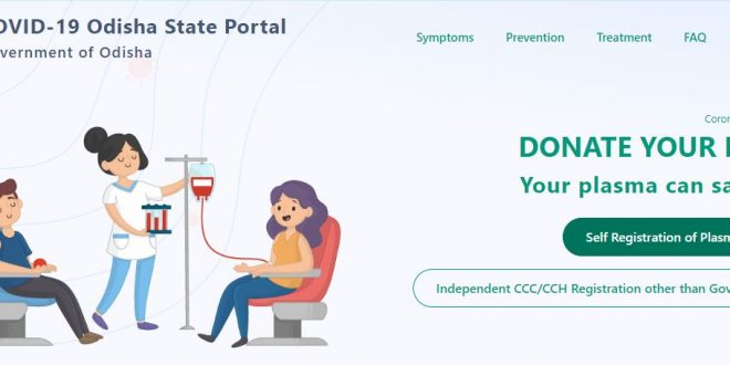 Plasma donation registration