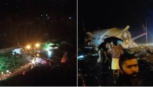 Air India Express plane crashes in Kerala