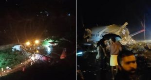 Air India Express plane crashes in Kerala