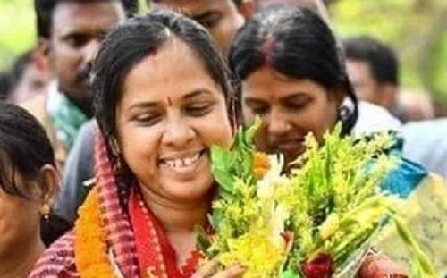 BJD MP Manjulata Mandal