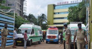 Fire breaks out at Sadguru Covid Hospital