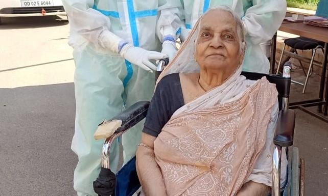 92-year-old woman beats Covid-19 in Odisha