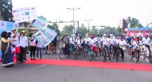 cyclathon promotes awareness on cancer