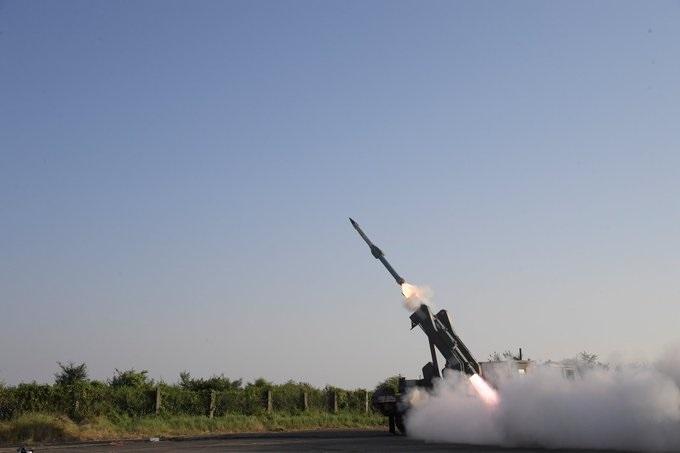 QRSAM missile system