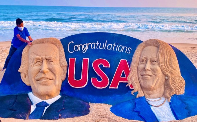 US Election: CM congratulates Biden, Harris