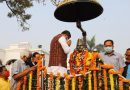 tributes paid to Netaji, Surendra Sai