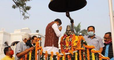 tributes paid to Netaji, Surendra Sai