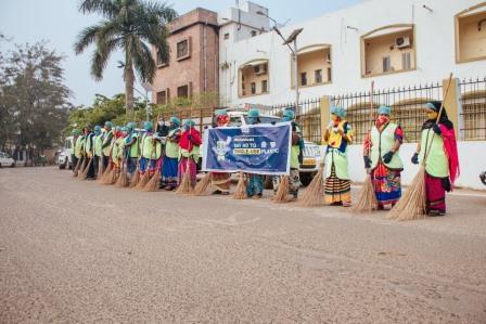 plastic free campaign at Utkal University