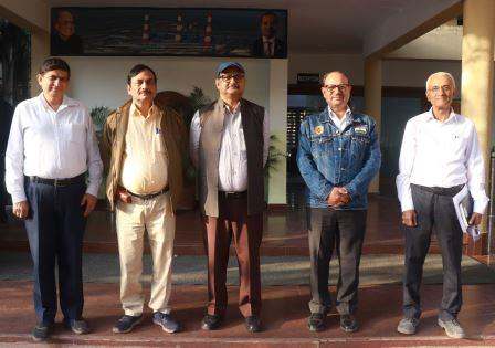 ECoR DRM Khurda visits JSPL plant