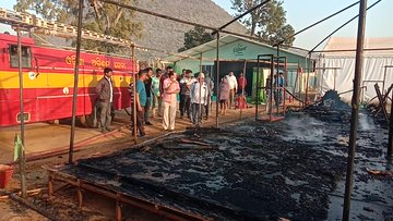 Major fire breaks out at Satkosia Eco Retreat