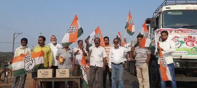 Congress observes Odisha bandh