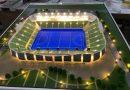foundation stone for India's largest Hockey Stadium