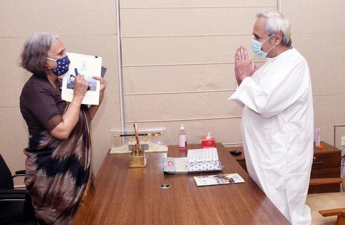 SAIL chairman meets Odisha CM