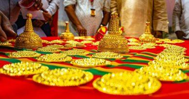 Devotee donates 4.8kg gold to Jagannath Temple