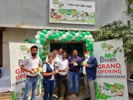 Milk Mantra's technology embedded 'Moo booths'