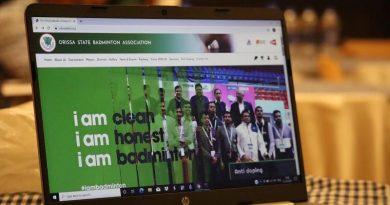 Website of Orissa State Badminton Association