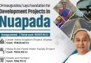 Inauguration of projects in Nuapada
