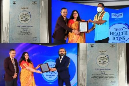 SUMUM ranked No 1 multi specialty hospital