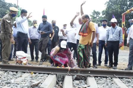 Balram Railway Siding in Talcher